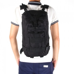 3P Tactical Military  Backpack Oxford Outdoor Sport Bag for Camping Traveling Hiking Trekking  30L Black 30L