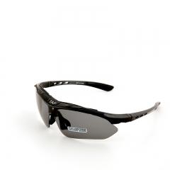 Sport Cycling Bicycle Eyewear Men Outdoor Goggles 5 lens Glasses Polarized Bike Sunglasses black