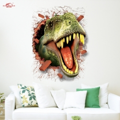 The new three - dimensional wall stickers 3D Dinosaur Wall Stickers The dinosaur One size