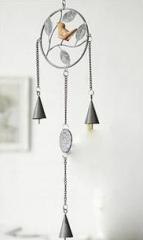 Metal Campanula household decorative items door window iron ornaments handicrafts circular gray 16*55
