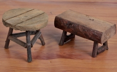 Wooden Decoration Mini Stool Table Decoration as the picture little table