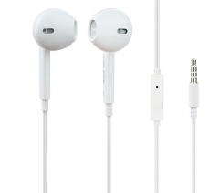 Gelisi Earphone G9  mobile phone cable Headset White