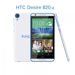 "HTC Desire 820 , 5.5"" HD Screen, 2 GB RAM, 16 GB ROM,support SDcard, 13.0MP+ free screen protector white+blue"