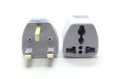 UK Standard Plug Travel universal Wall Charge Socket Power Adapter UK PLUG white 250V/10A