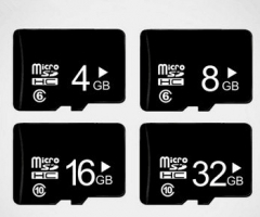 Phone memory card black ordinary 8gb TF