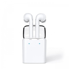 True Wireless Earphones Bluetooth V4.2, Stereo Headphones with Portable Charging Case. write