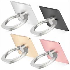 360 Degree Finger Ring Grip Mobile Phone Tablets Holder Stand Holder Back Cover 40*35*7mm gold nine