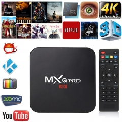 MXQ TV Box 1G+8G MXQ Pro XBMC Kodi QUAD CORE 4K Android 5.1 Lollipop Smart TV BOX