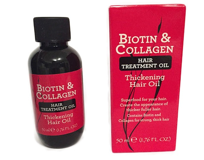 biotin and collagen hair thickening oil review