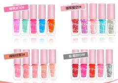 Buy 1 get 2 ! 4 Pieces  Pretty Candy Colorful Polish Candy Color Nail Polish 04 23g