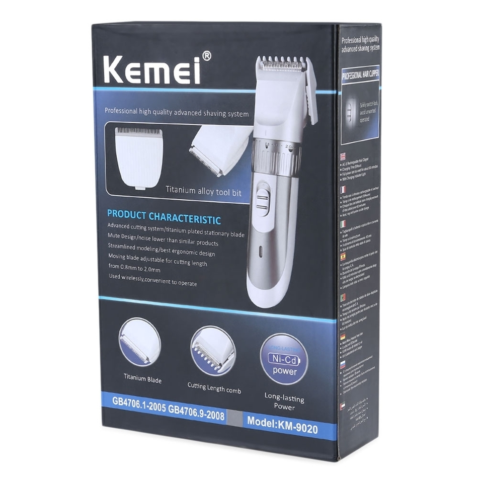 Rechargeable Electric Shaver Beard Clipper Kit remover cutting machine hair trimmer AS PICTURE 9