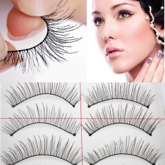 10 Pairs New False Eyelashes Handmade Black Long Thick Natural Fake Eye Lashes Extension2 as picture
