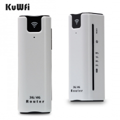 2200mAh Power Bank 21.6Mbps 3G WiFi Router Travel Wireless Hotspot With SIM Card