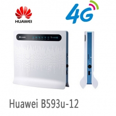 Huawei LTE 4G Wireless CPE Router Gateway 100Mbps Mobile WiFi Hotspot SIM Card