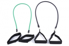 Pilates Latex Tubing Expanders Exercise Tubes Practical Strength Resistance Band One color normal