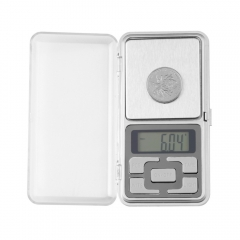 Mini Digital Scale Pocket Electronic Gem Weigh Weighing Scales silver normal