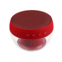 Portable Wireless Bluetooth Speaker LED Colorful Light Music Support FM U-disk TF Mini Speaker black bluetooth speaker
