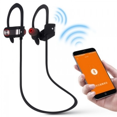 Wireless Bluetooth Headphones Sports Bluetooth Earphones With Mic for Phone Mobole Accessories black