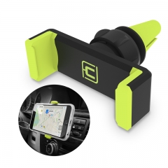 Phone Holder Stand 360 Adjustable Air Vent Monut GPS car mobile phone holder for Mobile Phone GREEN <6in