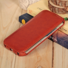 New Samsung s4 mobile phone wallet multi-purpose anti-drop i9500 mobile phone case light brown 5.0inch