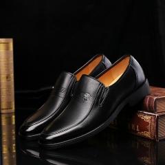 Men 's business comfortable shoes interview wedding shoes black 38