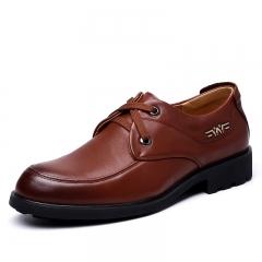 Fall men 's suits business casual shoes fashion men' s shoes brown 38