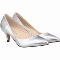 Queen of the four seasons are advised to tip to the little mouth with the bridesmaid bride shoes silver 39
