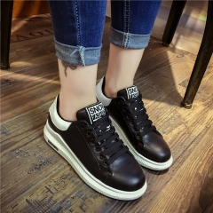 Single shoes Women 's lace shoes Casual shoes black 35