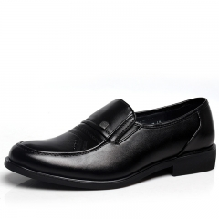 Casual Wenzhou business dress is a single shoes fashion men's shoes shoes men's shoes black 38