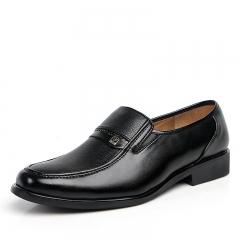 Men's business suits shoes black 38