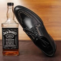Men's suits leather shoes pointed gentleman men's shoes shoes trend fashion shoes black 37