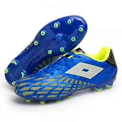 Luminous football shoes blue 36