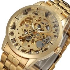 WINNER Men's Watch Auto-Mechanical Steel Band  Watch