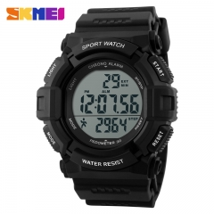 Men Military Sports fashion casual Watches black