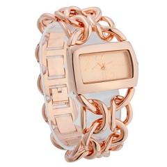 Women's Steel Analog Quartz Wrist Watch rose