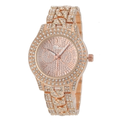 Women Dress Watches Ms drill watch more Fashion Watches rose