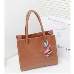 New color Korean Fashion Handbag Shoulder Bag brown free size