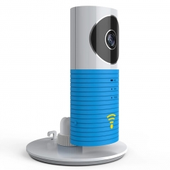 Smart Home CCTV IP Network Camera IR Phone WIFI Wireless Remote Control Baby Kids Monitor Blue