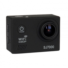 SJ7000 Action Camera Wifi Waterproof Outdoor Sports Camcorder Helmet Riding Recorder Black 25cm*12cm*6cm