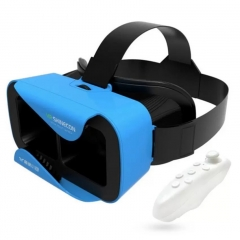 VR Glasses VR BOX 2.0 Movie For 3.5-6.0' Smartphone +Bluetooth Remote Controller For Game Playing