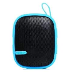 Remax Portable Outdoor Sport Music Player Box Mini Bluetooth Speaker For Smart Phone Android/Ios Blue 500wAh RM-X2