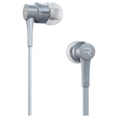 Remax In-Ear Stereo Earphone HeadPhone Headset With Microphone Hands Free For Smart Phone white