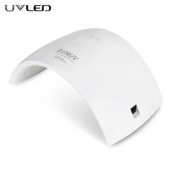 SUN 9C Plus 36W Nail  Lamp Nail Dryer For UV Gel LED Gel Nail Art Machine Infrared Sensor Timer Set white 1