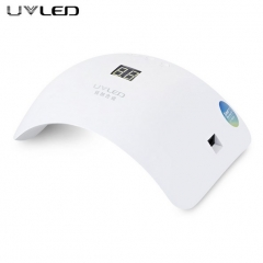 UVLED 48W Dual LED Nail Lamp Nail Dryer Gel Polish Curing Light Manicure Machine  Nail Art Tools white 1