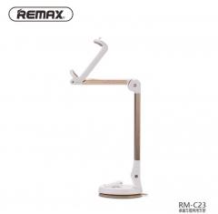 Remax 360 Degrees Foldable Portable Mobile Phone GPS Car Holder Home Desktop Holder gold 20