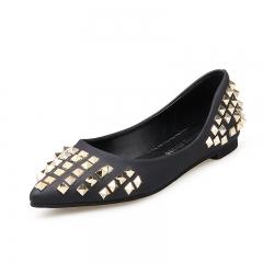 Pan pointed fashion shoes black 35
