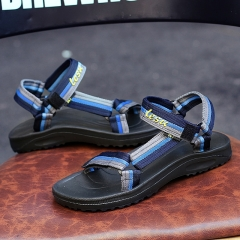 Beach shoes outdoor leisure slippers 831 blue 42