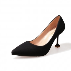 New wild high-heeled shoes with high-heeled shoes 116 black 34