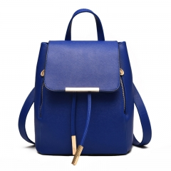 School Bags For Teenagers Girls Top-handle Backpacks Blue One size