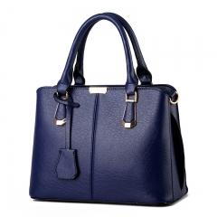Women sweet fashion Crossbody Shoulder Handbag blue one size
